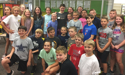 Jarrettsville Elementary helped collect tabs with Kara Cares